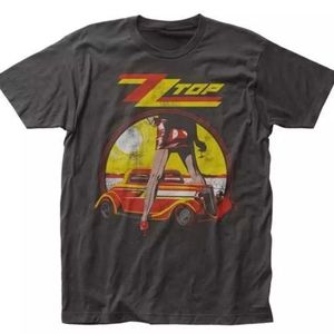 New ZZ Top Vintage Style Distressed Legs Shirt